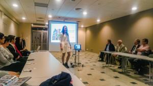 14.09 spotkanie z uczestnikami rotary Youth Exchange
